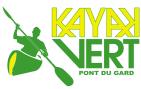 Kayak Vert à Collias