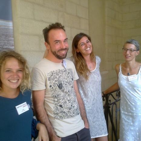 Lule, Maxacsa, Alix Lepienne et Peggy Ferron-Callot
