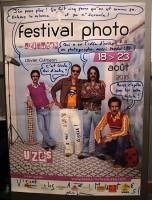 L'affiche du festival version B.D., dédicace très spéciale de Olivier Culmann