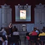 """Conférences """"Rêveries"""", Carole présente sa démarche et les valeurs qui l'animent."""